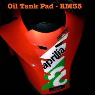 Aprilia Motor Oil Tank Pad