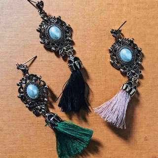 Tassel earrings (New & Instock)