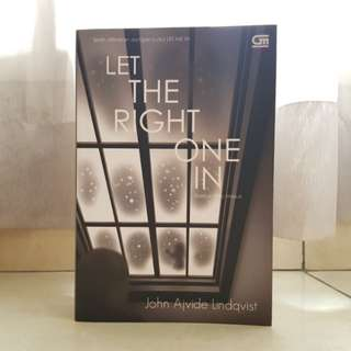 Let The Right One In (Bahasa)