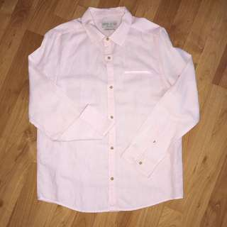 Limited Edition Zara Boys Linen Shirt