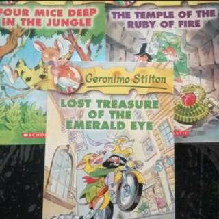 Geronimo Stilton story book Bundle deal