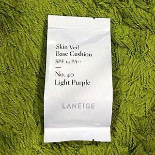 Laneige Skin Veil Base Cushion (light purple) refill