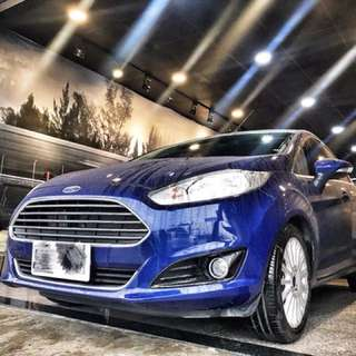 2017年 Fiesta 跑6000 根本新車 卻比新車便宜10萬