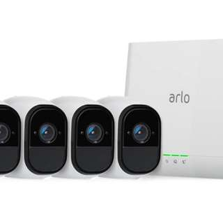 (Installment Plan) Arlo Pro Smart Security System - 4 Cameras with Base