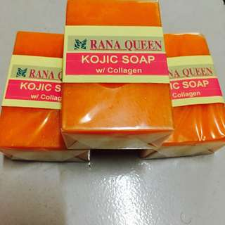 Rana Queen Kojic Soap with Collagen