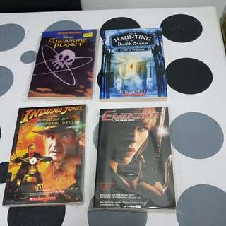 4 assorted titles