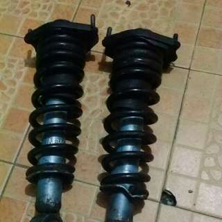 Rear absorber wish 2.0 rsr spring