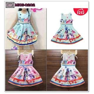 CODE: MKG-0202 My Little Pony Dress for Kids