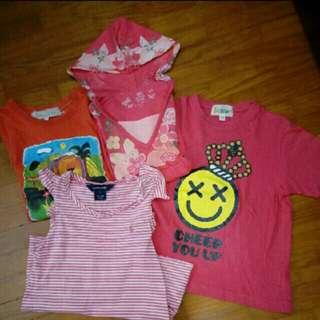 Girls Tops bundle deal