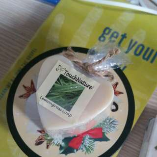 TouchNature Lemongrass soap