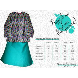 Girls Kurung by Orfeeya