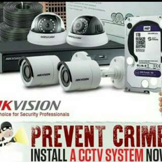 FULL HD CCTV complete set at $638