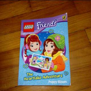 Lego friends book The Heartlake Adventure