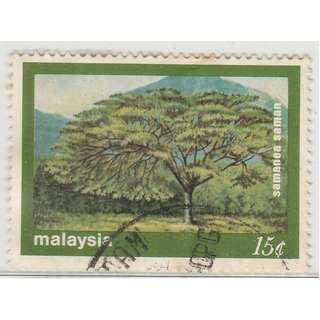 MALAYSIA 1981 Trees 15c used SG #235  (0214)
