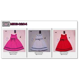 CODE: MKG-0204 Formal Dress for Kids