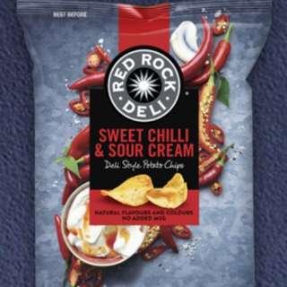 澳洲Red Rock 薯片28g 裝