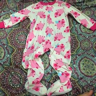 Carter Pig 🐷 Sleep Suit 2T