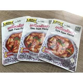 現貨 泰國Lobo 綠咖哩 鮮蝦酸辣湯 調味包
