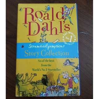 Enid Blyton and Roald Dahl Story Books