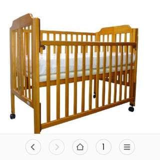 Baby Cot free delivery