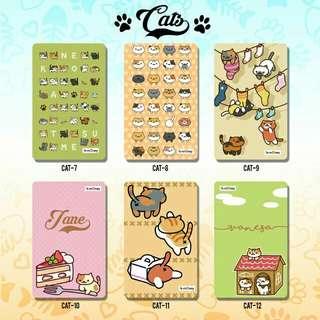 Custom E-money Flazz dan Brizzi card design Cat 2