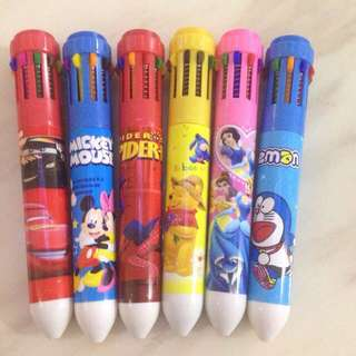 Colorful pens - goody bag