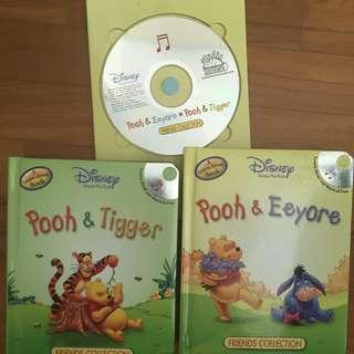 Disney Book Collection + CD