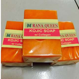 List of Soap Products: Rana Queen Papaya Skin Whitening Soap