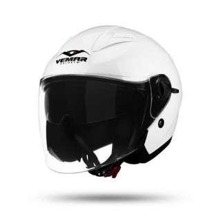 VEMAR VH119 White Helmet