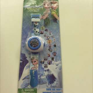 Birthday Party: Frozen Projector Watch