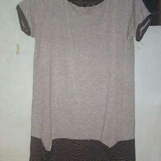 Dress plain & stripes