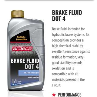 Dot4 Brake Fluid