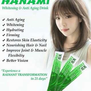 Hanami whitening!!!
