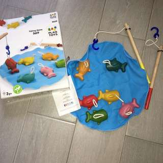Plan Toys Fishing games