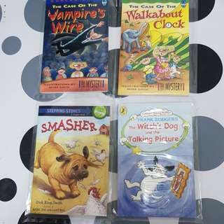 4 assorted titles (4books)