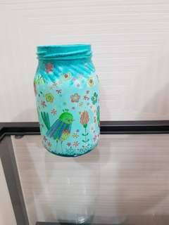 Glass Decoupage
