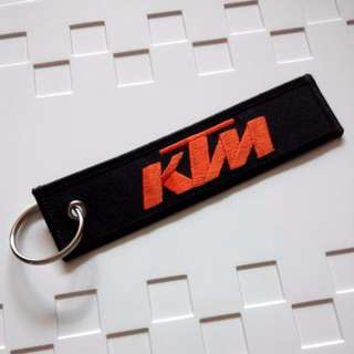 KTM Racing Sports Motorcycle Keychain