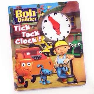 BOB THE BUILDER Tick Tock Clock! Book