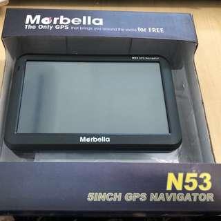 """Marbella N53 GPS 5"""""""