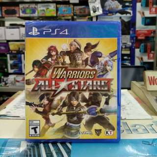 🆕 PS4 Warriors All Stars