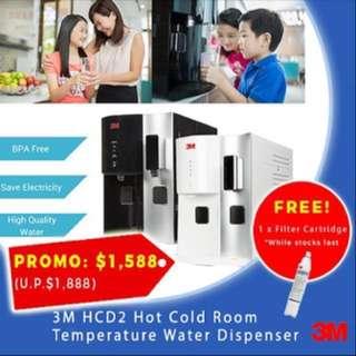 3M HCD2 Hot Cold Room Water Dispenser