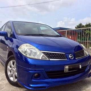 Nissan Latio Sport 1.6 Auto 2009 RM42,000 siap semua on the road No hidden cost No gst Full loan Bulanan 560 9 tahun Bulanan 680 7 tahun Min gaji 2k (Kalau ada duit muka...bulanan lain kira)