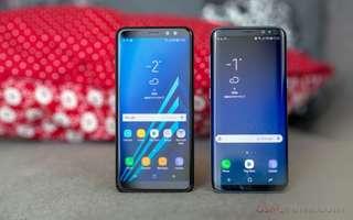 Samsung galaxy A8 cicilan tanpa kartu kredit.. Promo free admin