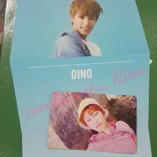 [WTT] SEVENTEEN TEEN;AGE DINO STANDEE & THE8 Photocard