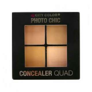 CITY COLORS CONCEALER QUAD (original)