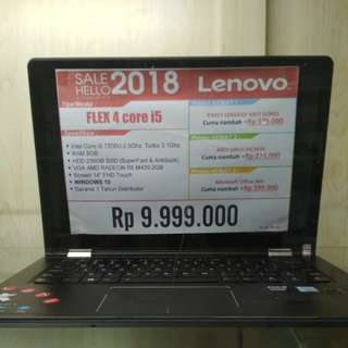 Lenovo Flex 4 bisa cicilan tanpa CC proses cepat 30 menit