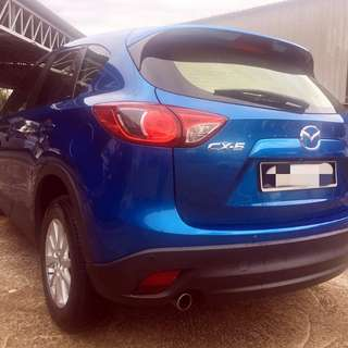 DIRECT OWNER!!! (My sister in law)  Mazda CX-5 2.0 Auto 2014  RM85,000 (Belum OTR)  Mileage below 60k Full service record at Mazda Service Centre!  Want to sell because she bought a new car in Singapore