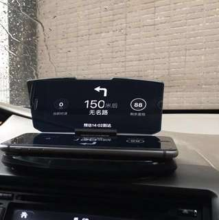 Car Mobile Phone HUD Head-up Display