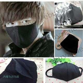 黑色韓風環保口罩