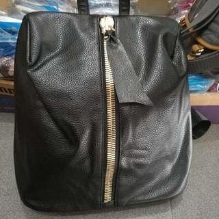 Zipper up backpack